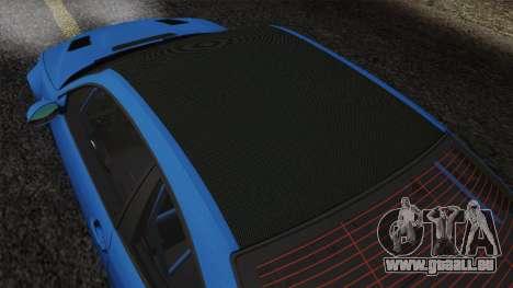 BMW M3 E46 GTR 2005 pour GTA San Andreas vue de côté