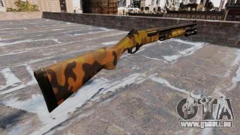 Fusil à pompe Remington 870 Automne Camos pour GTA 4 secondes d'écran