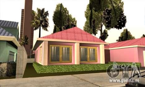 Neues Haus Milli für GTA San Andreas dritten Screenshot