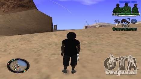 C-HUD Grove Street für GTA San Andreas dritten Screenshot