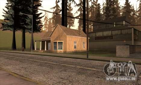 Nouvelle maison de Sijia à Angel Pine pour GTA San Andreas
