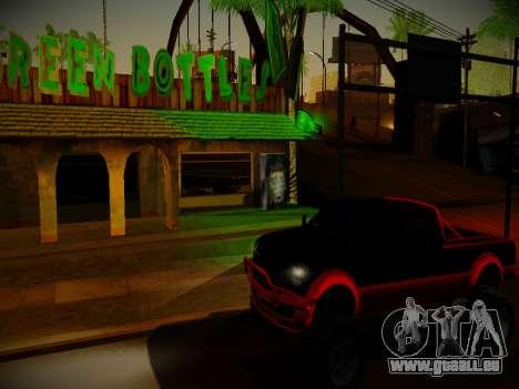 ENBSeries pour les faibles PC v3.0 pour GTA San Andreas troisième écran