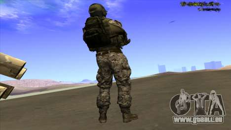 U.S. Navy Seal für GTA San Andreas zweiten Screenshot