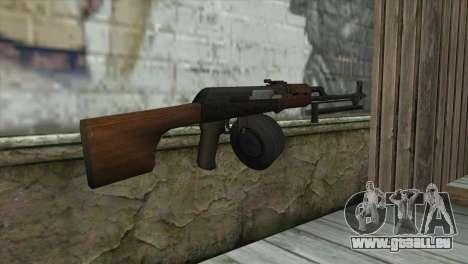RPK Machine Gun pour GTA San Andreas deuxième écran
