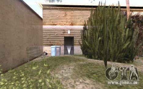 Le sous-sol de la maison Carl pour GTA San Andreas