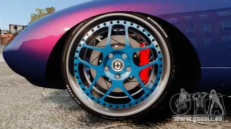Shelby Cobra Daytona Coupe pour GTA 4 Vue arrière