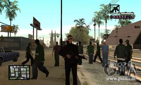 C-HUD by Miller für GTA San Andreas