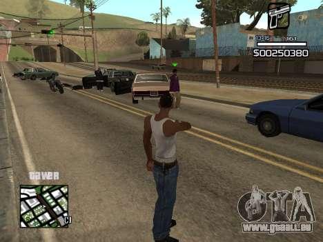 C-HUD By Kapo pour GTA San Andreas troisième écran