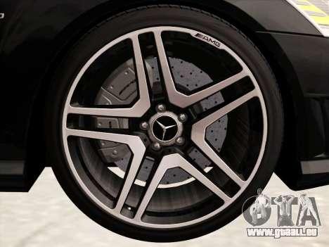 Mercedes-Benz S65 AMG 2012 für GTA San Andreas obere Ansicht