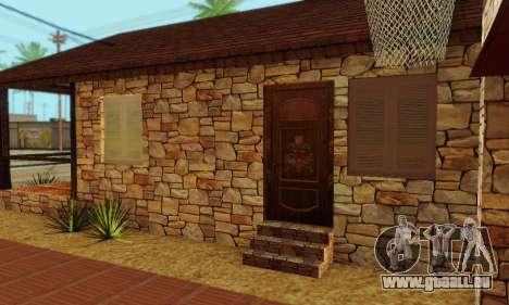 Nouvelle maison de big Smoke pour GTA San Andreas sixième écran