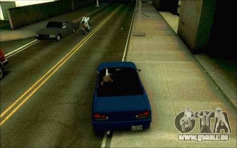 Elegie Tokio Cabrio für GTA San Andreas zurück linke Ansicht