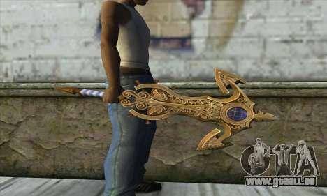 Dragon Nest Warrior Marine Sword für GTA San Andreas zweiten Screenshot
