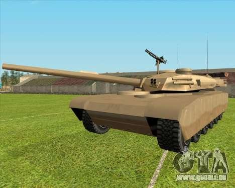 Rhino tp.90-125 pour GTA San Andreas laissé vue
