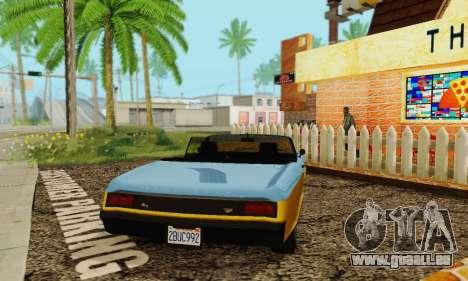 Gta 5 Boucanier mis à jour pour GTA San Andreas vue arrière