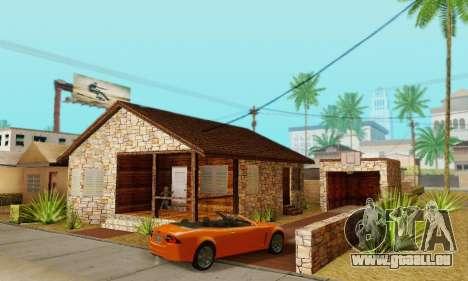 Nouvelle maison de big Smoke pour GTA San Andreas