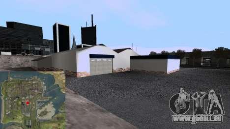 Nouvelles De Garage pour GTA San Andreas cinquième écran