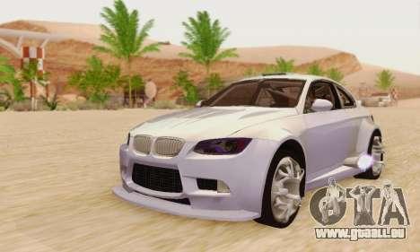 BMW M3 E92 SHD Tuning für GTA San Andreas
