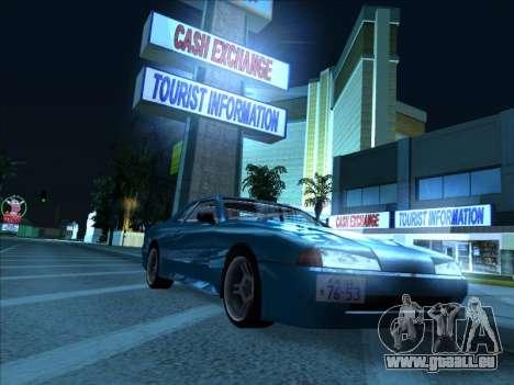 Elegy With a Pipe v1.2 pour GTA San Andreas sur la vue arrière gauche