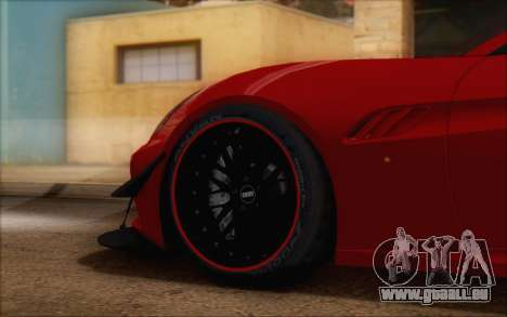 Ferrari California v2 pour GTA San Andreas vue de droite
