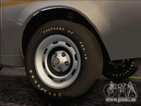 AMC Gremlin X 1973 für GTA San Andreas zurück linke Ansicht