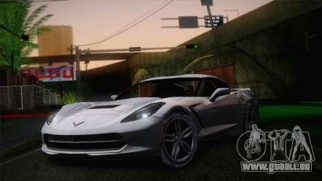 Chevrolet Corvette C7 für GTA San Andreas