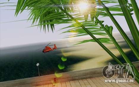 IMFX Lensflare v2 für GTA San Andreas achten Screenshot