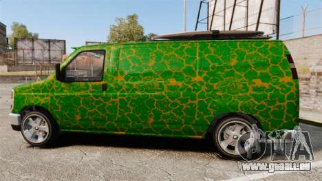 GTA V Bravado Rumpo für GTA 4 linke Ansicht