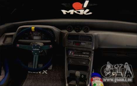 Honda cr-x, Türkei für GTA San Andreas Rückansicht