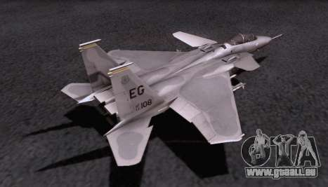 F-15S pour GTA San Andreas vue intérieure
