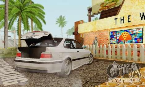 BMW E36 M3 1997 Stock für GTA San Andreas linke Ansicht