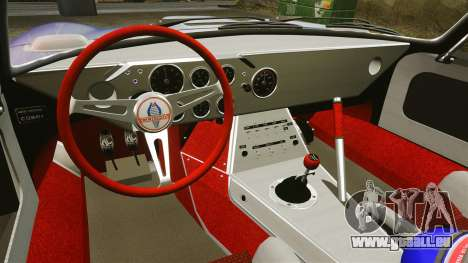 Shelby Cobra Daytona Coupe pour GTA 4 vue de dessus