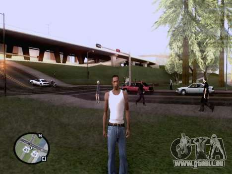 Die neue Karte in HD für GTA San Andreas her Screenshot