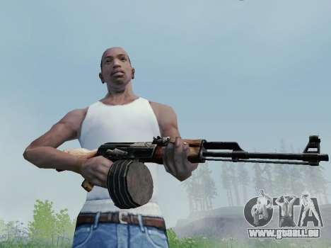 Light Machine Gun Kalashnikov pour GTA San Andreas