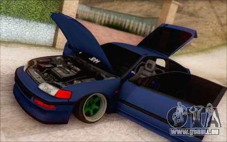 Honda cr-x, Turquie pour GTA San Andreas laissé vue