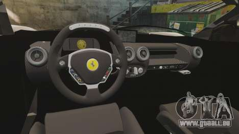 Ferrari LaFerrari v2.0 pour GTA 4 est une vue de l'intérieur