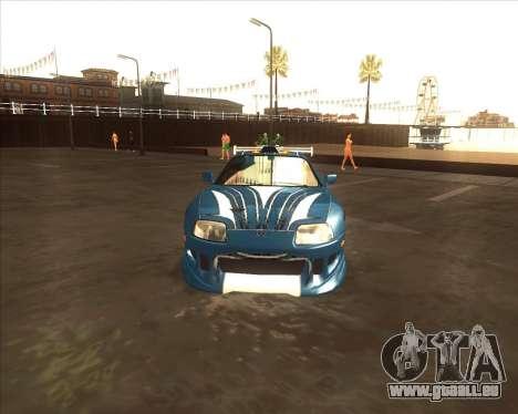 Toyota Supra из NFS most Wanted pour GTA San Andreas vue de droite
