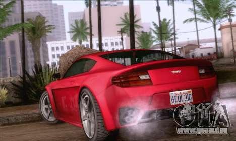 GTA V Rapid GT pour GTA San Andreas laissé vue
