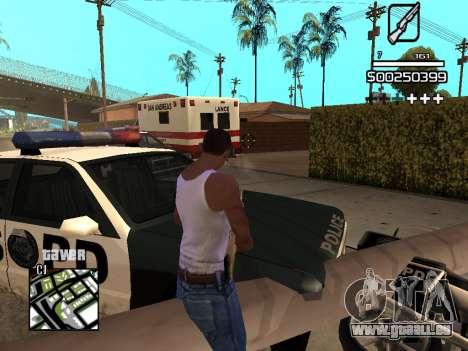 C-HUD By Kapo pour GTA San Andreas neuvième écran