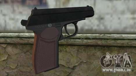 Makarov Pistol pour GTA San Andreas deuxième écran