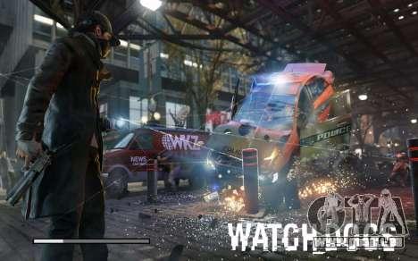 Les écrans de démarrage et de menus Watch Dogs pour GTA San Andreas septième écran