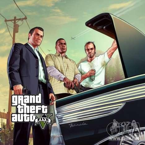 Démarrage de l'écran de GTA V pour GTA San Andreas troisième écran