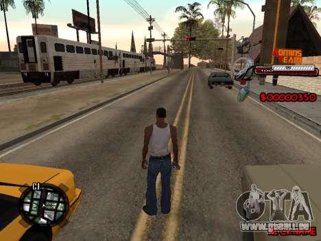 C-HUD Admins Team für GTA San Andreas dritten Screenshot