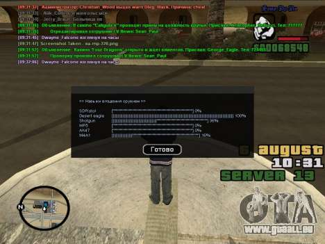 CLEO Skill for 0.3z new version pour GTA San Andreas