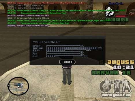 CLEO Skill for 0.3z new version für GTA San Andreas