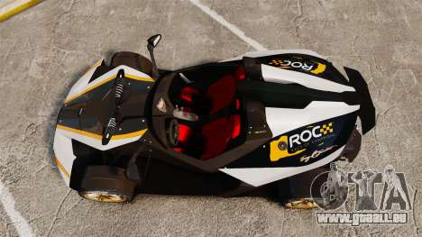KTM X-Bow R [FINAL] für GTA 4 rechte Ansicht