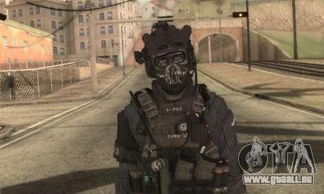 Benutzerdefinierte из CoD:Ghost für GTA San Andreas