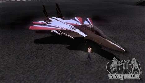 F-15S für GTA San Andreas Innen