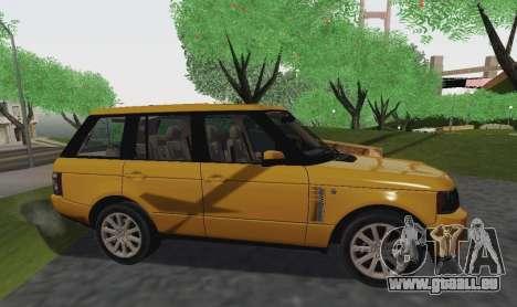 Range Rover Supercharged Series III pour GTA San Andreas vue de droite
