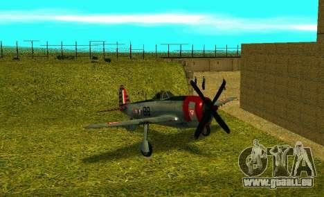 P-47 Thunderbolt pour GTA San Andreas