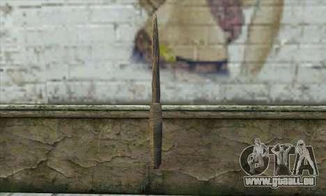 Die Messer von Skyrim für GTA San Andreas